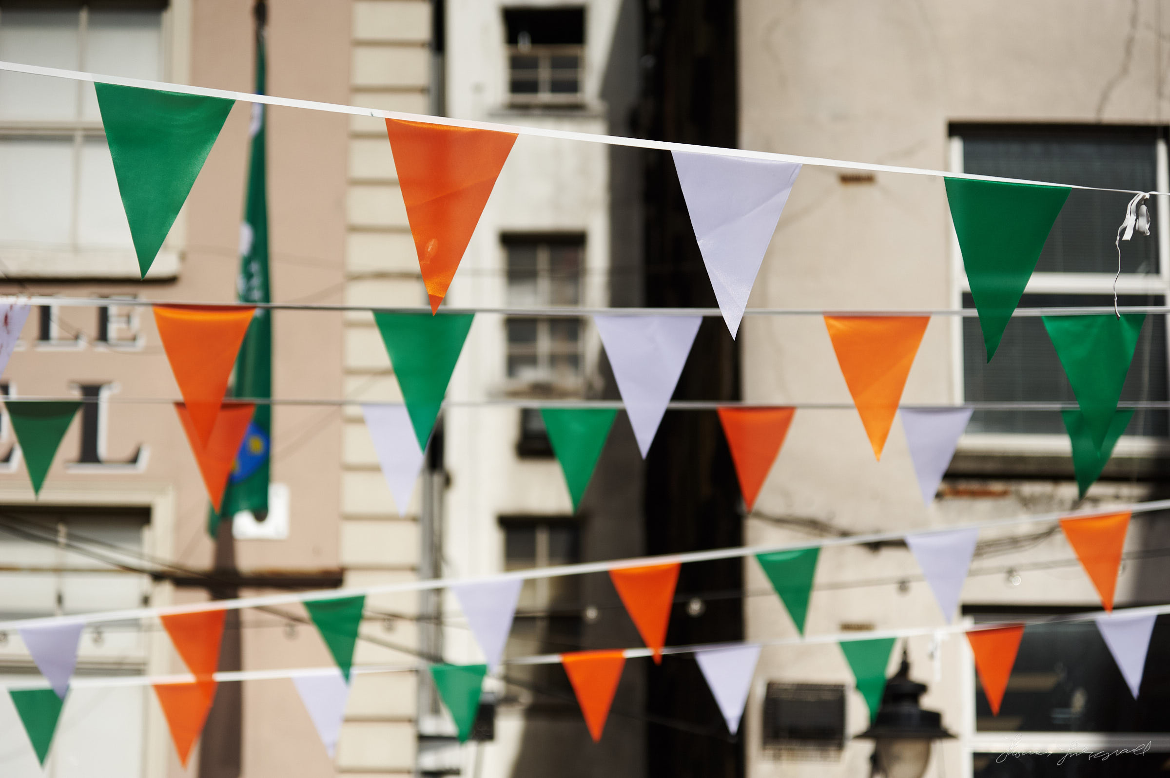 St. Patricks Day Decorations in Dublin