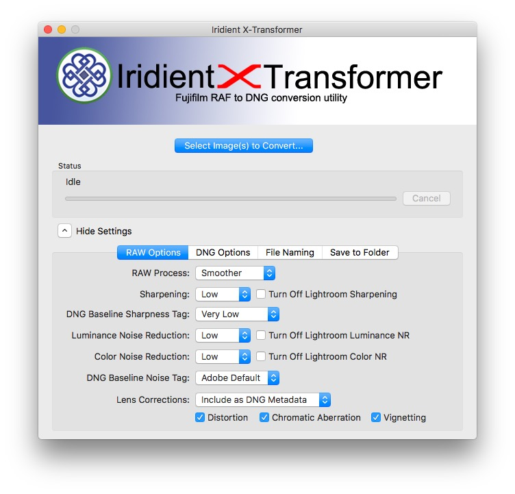 X-Transformer Settings