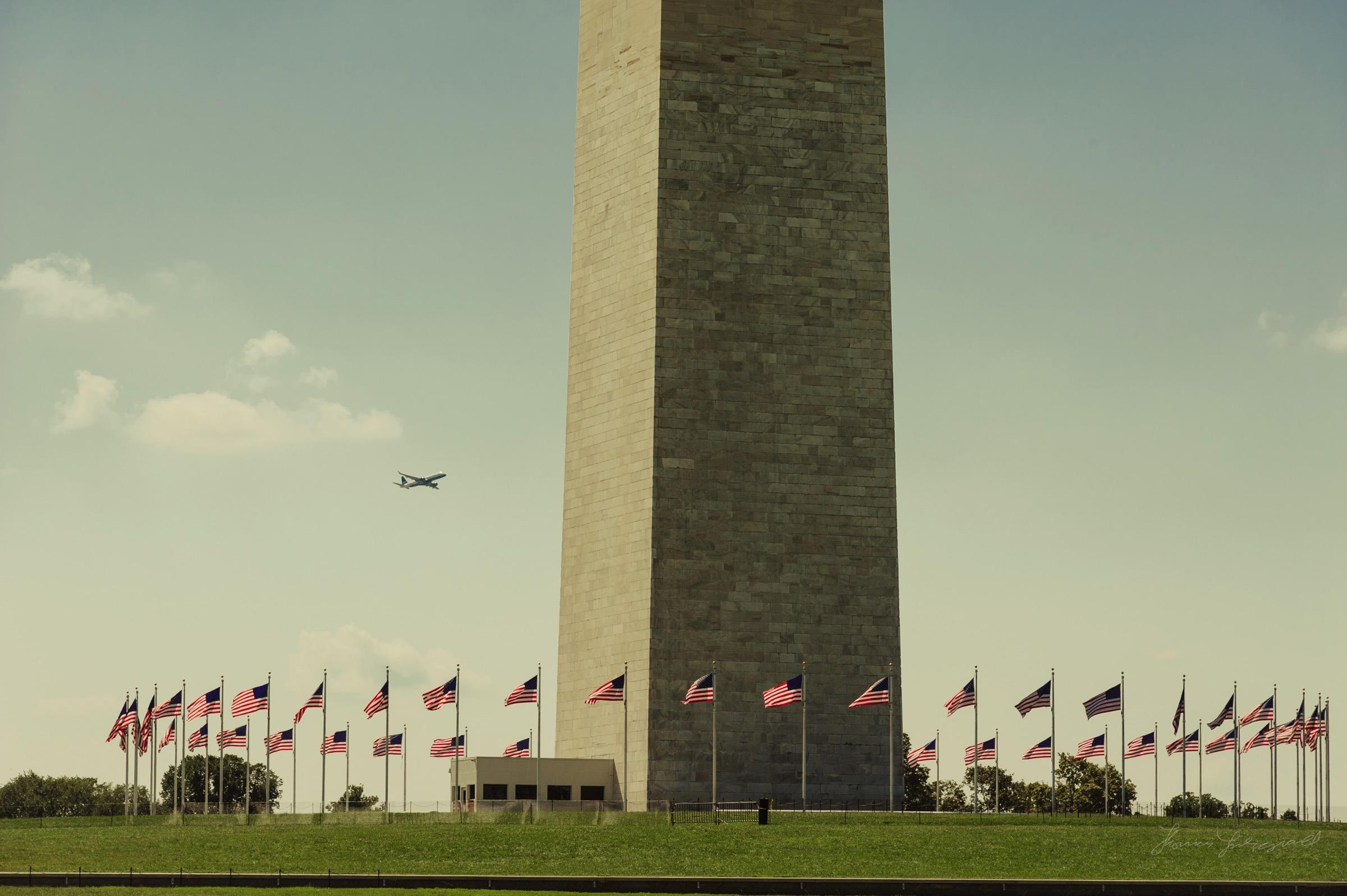 Washington Monument in DC
