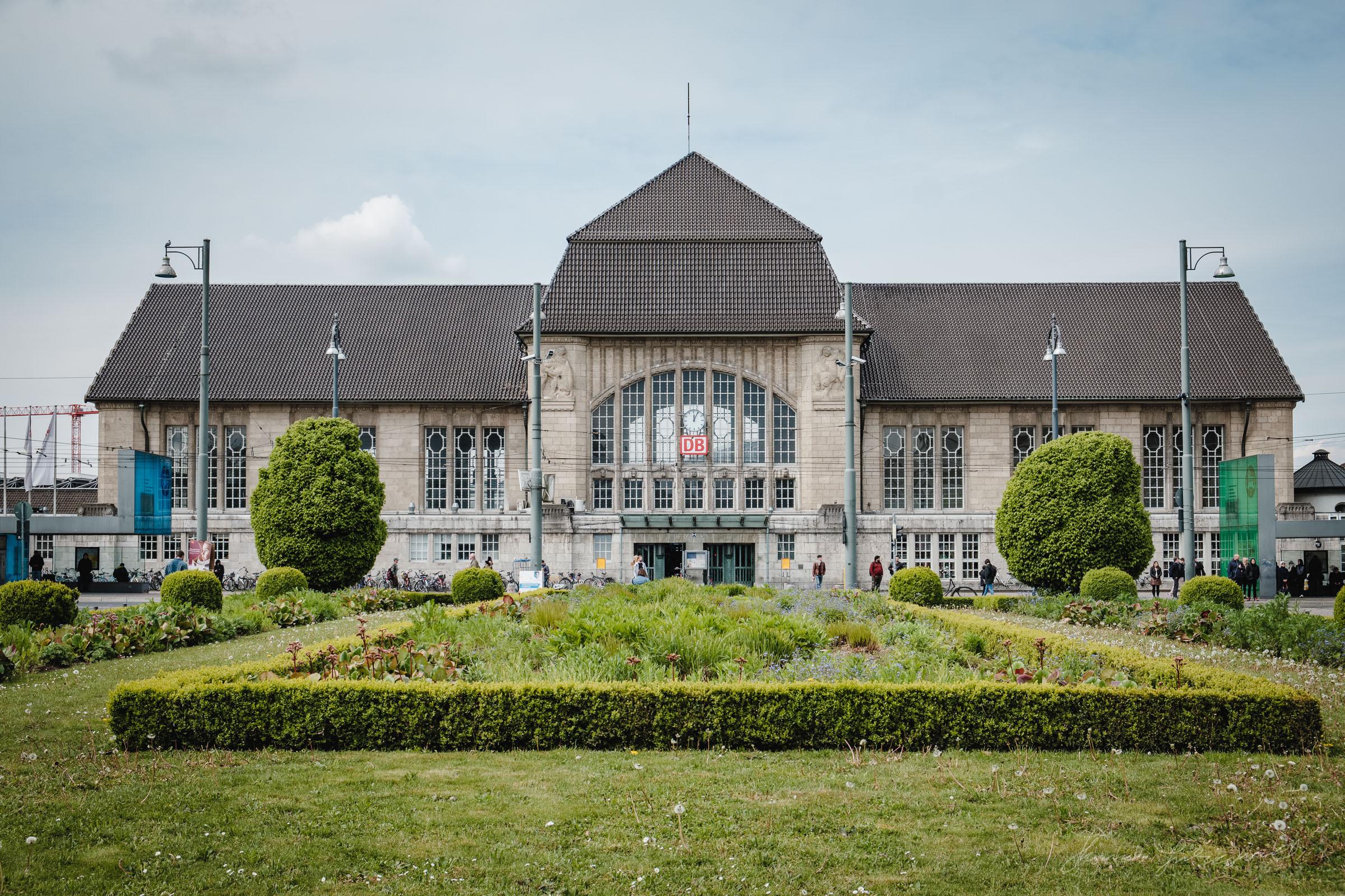Train Station in Darmstadt
