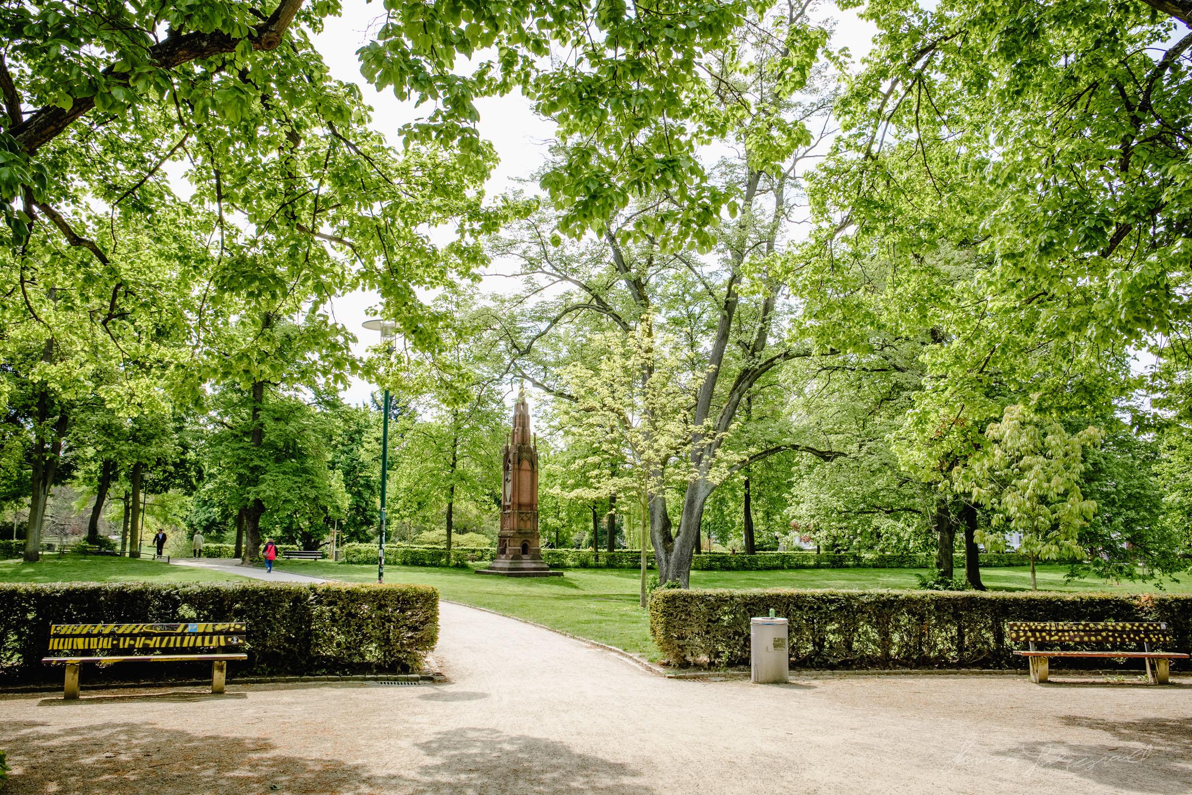 Herrengartan - Darmstadt