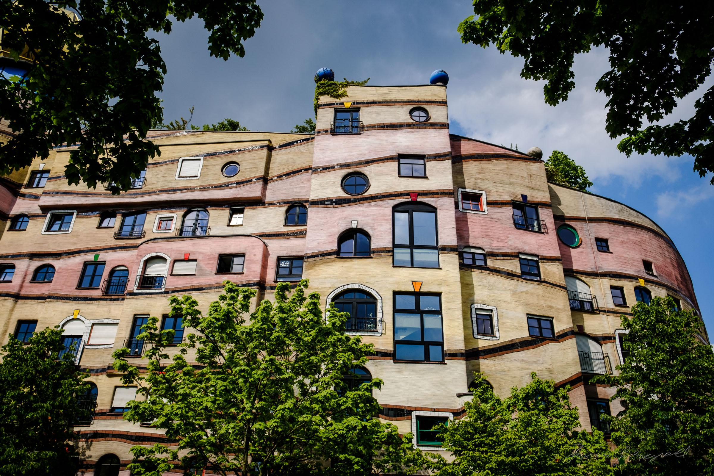 Weldspiral, In Darmstad