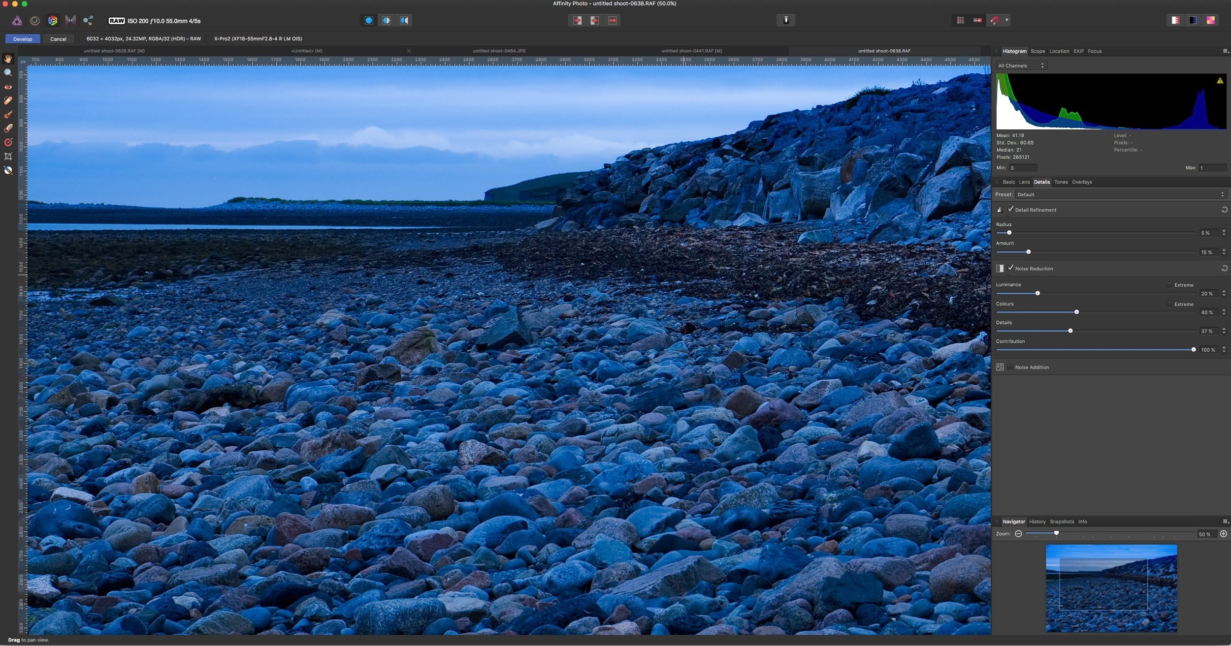 A Closer Look at Affinity Photo 1 5 for Fuji Raw Processing — Thomas