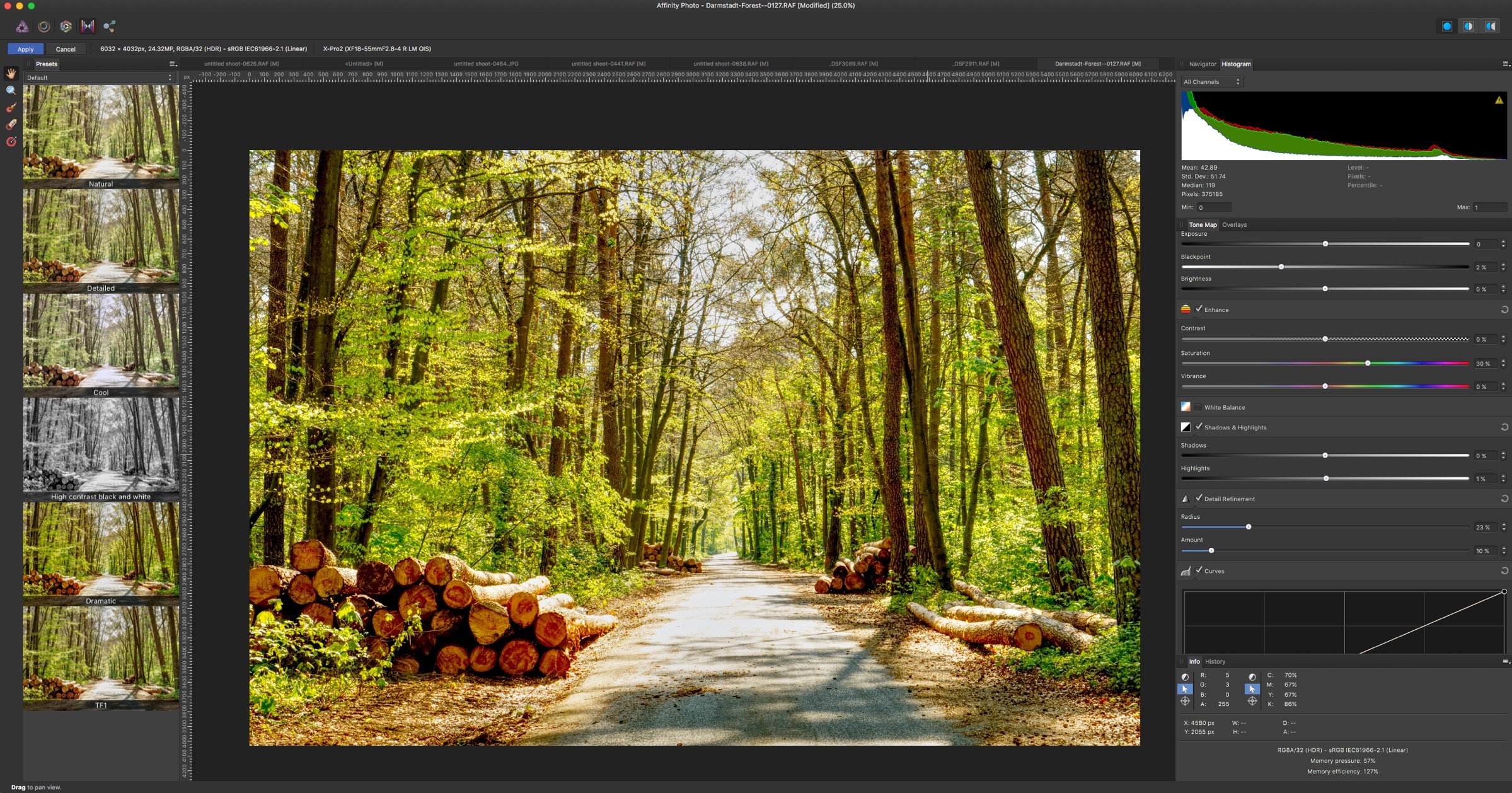 Affinity Photo 1.5 Tone Mapping Persona