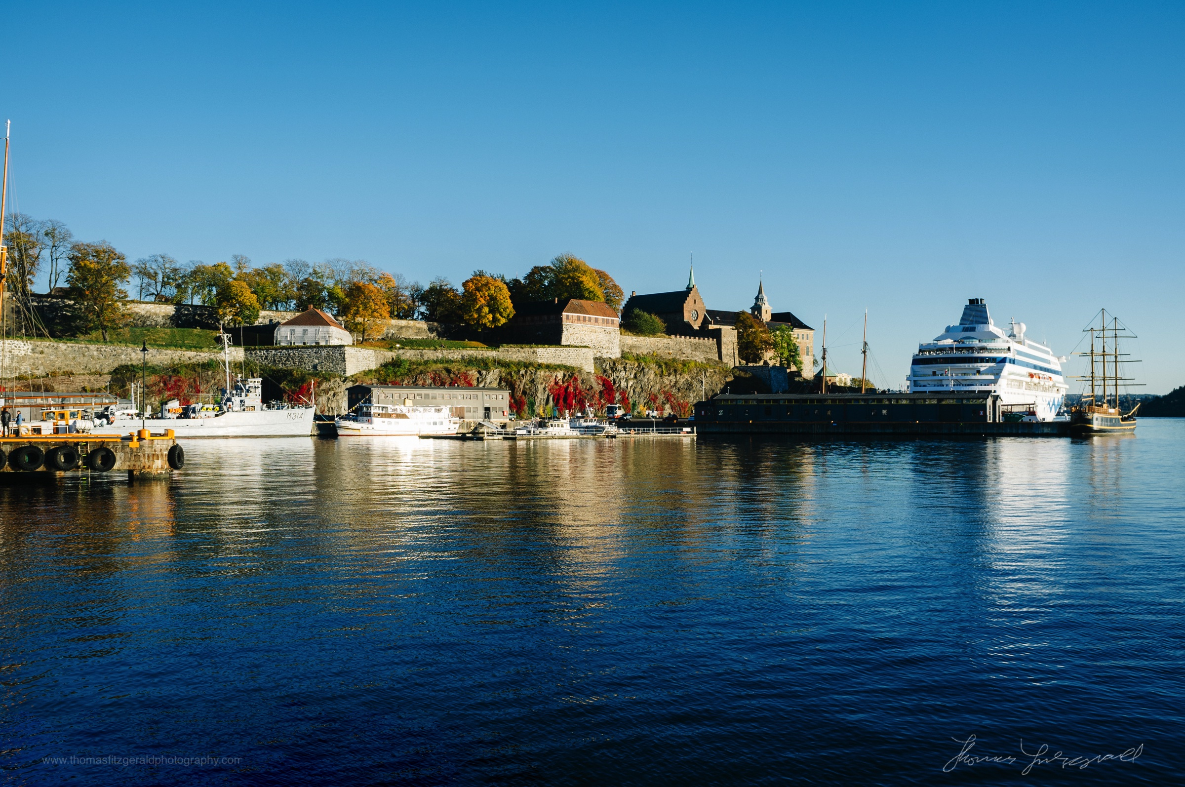 The Castle and the Cruise Ship