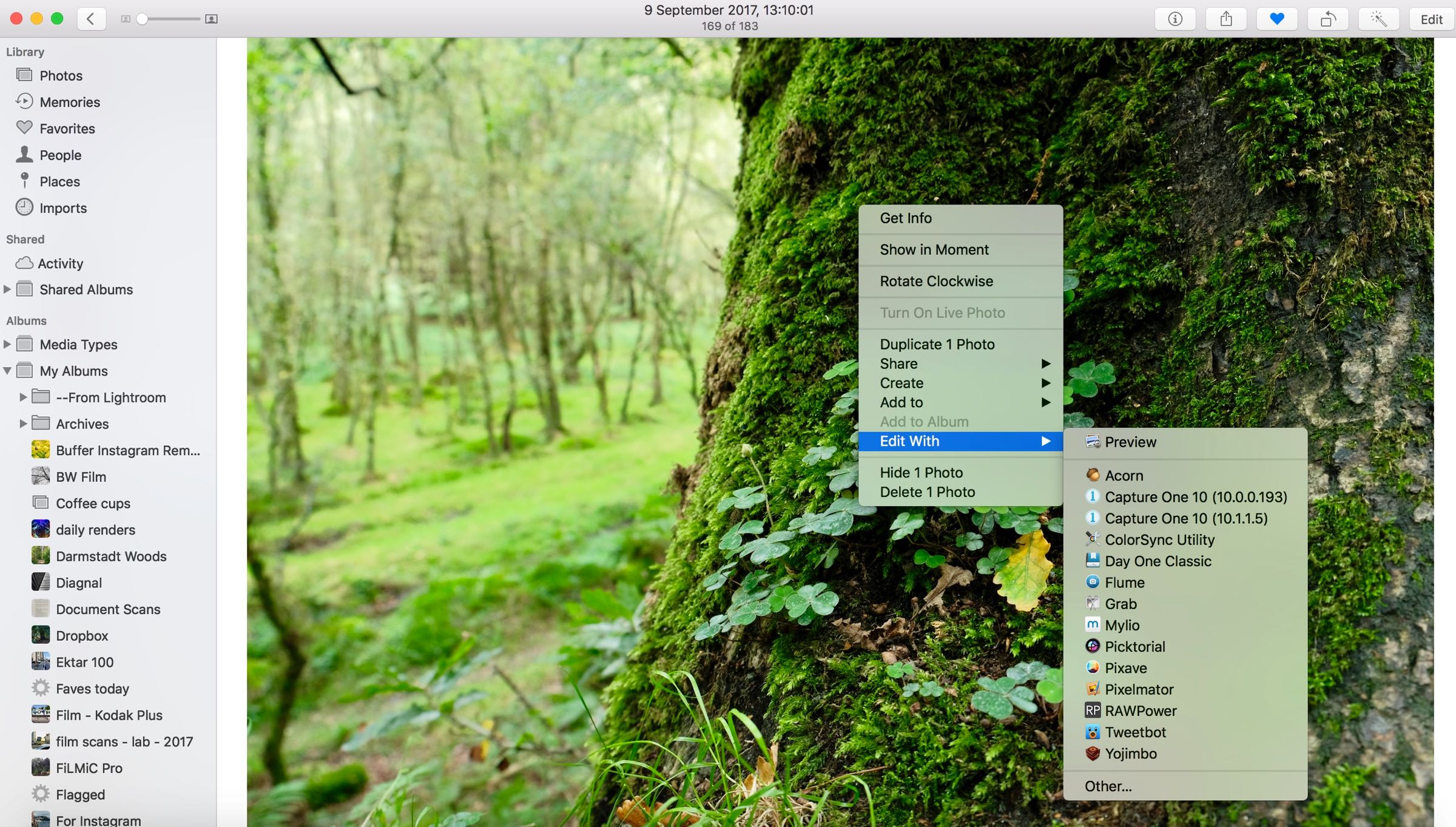 High Sierra Edit With options