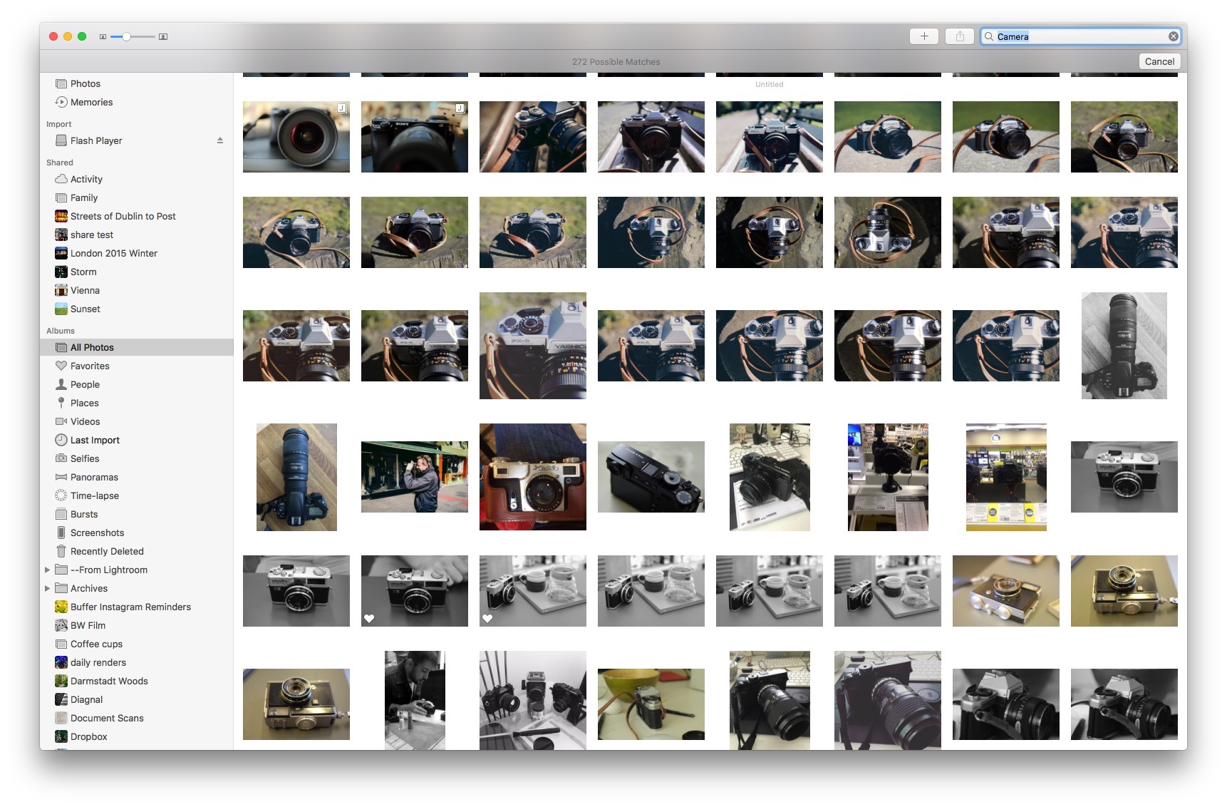 Searching photos for Image contents