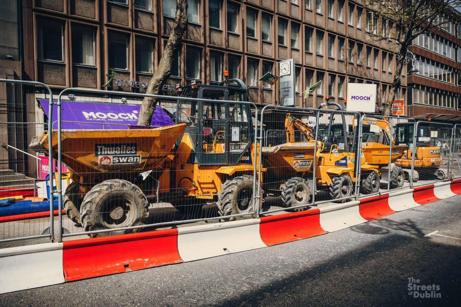 Cross City Luas Construction Works