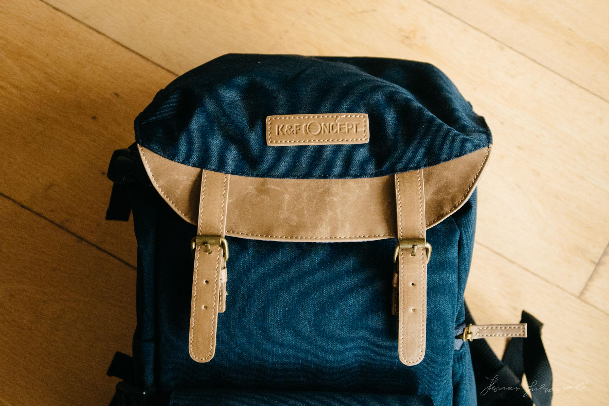 K&F Concept Bag CloseupK&F Concept Bag Review by Thomas Fitzgerald
