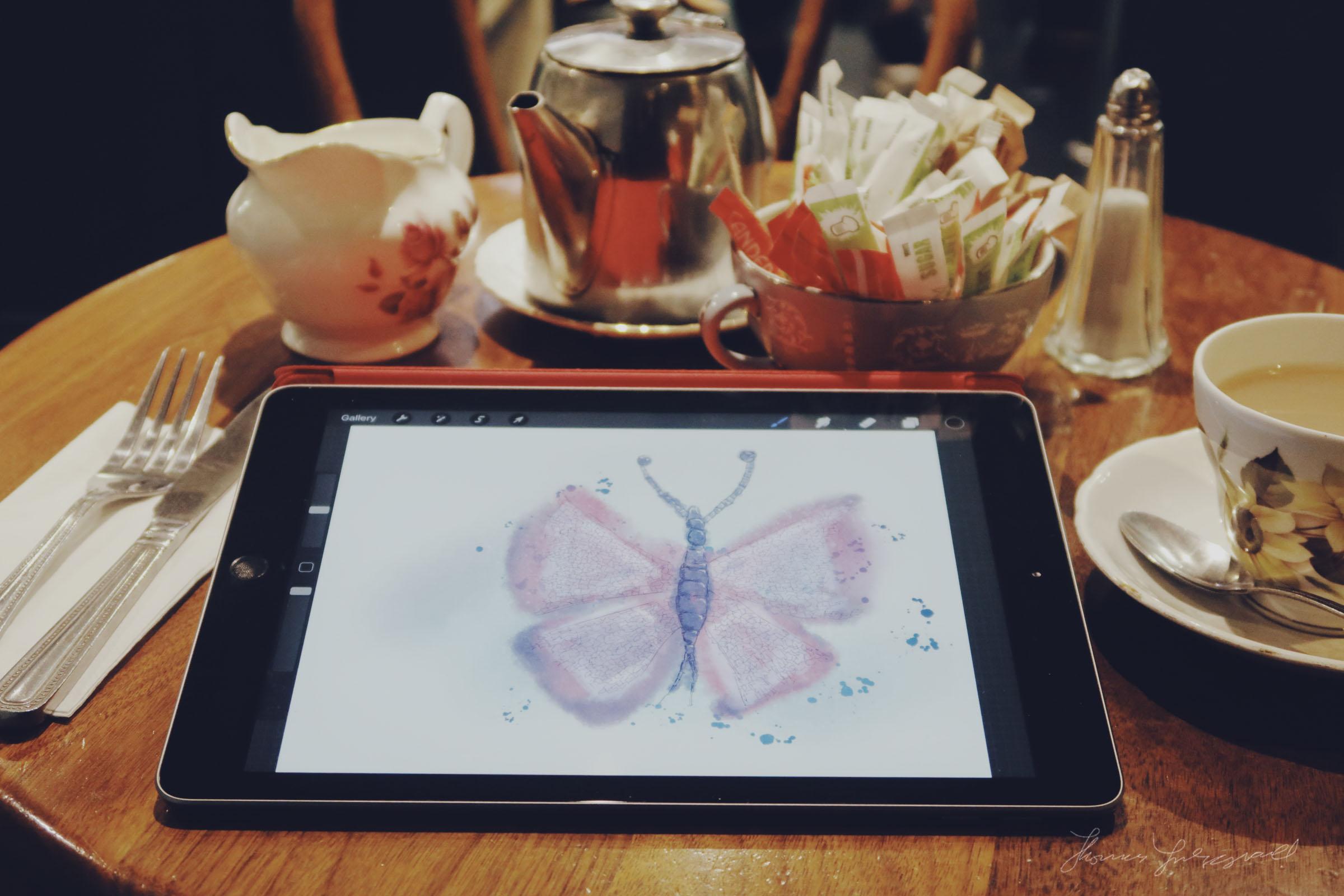 iPad and ProCreate