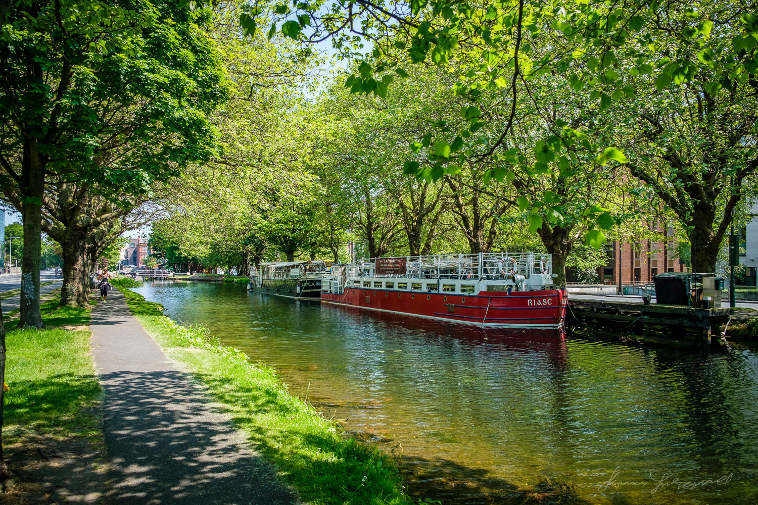 Barges on the Grand CanalTwo years with Fuji X-Pro2 - Landscape