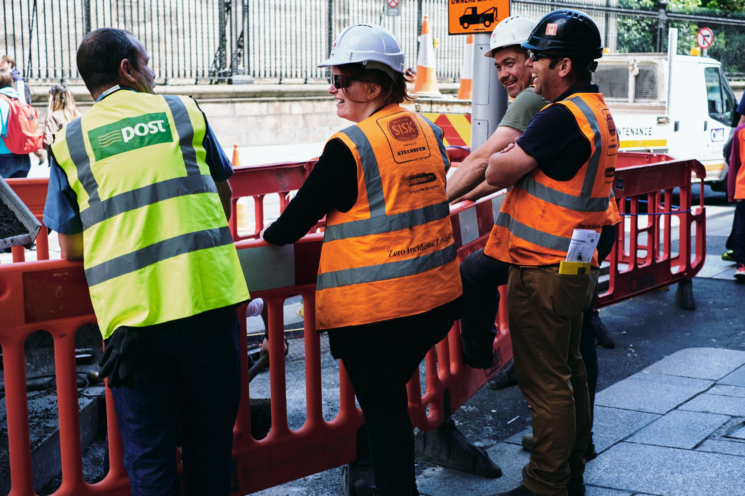Luas construction workersTwo years with the X-Pro 2 - Street and