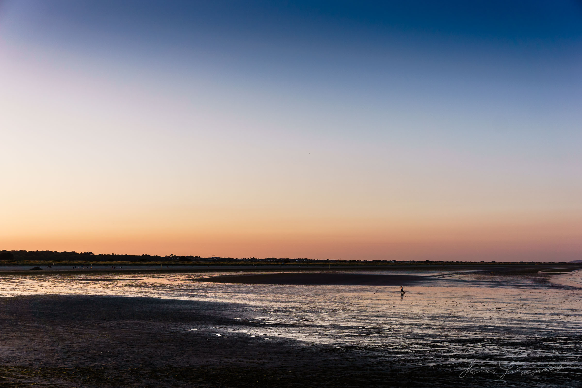 Sunset over Dollymount Strand