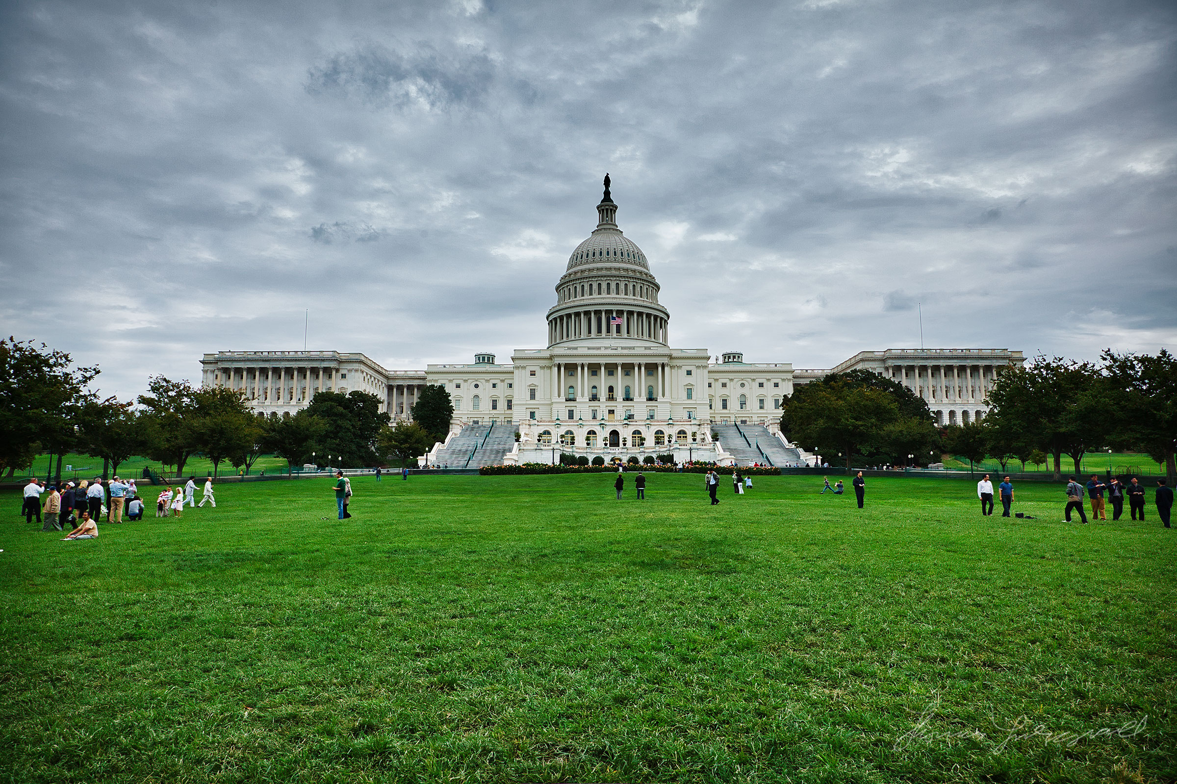 Capitol Building, Washington DC, Canon 5DMarkII