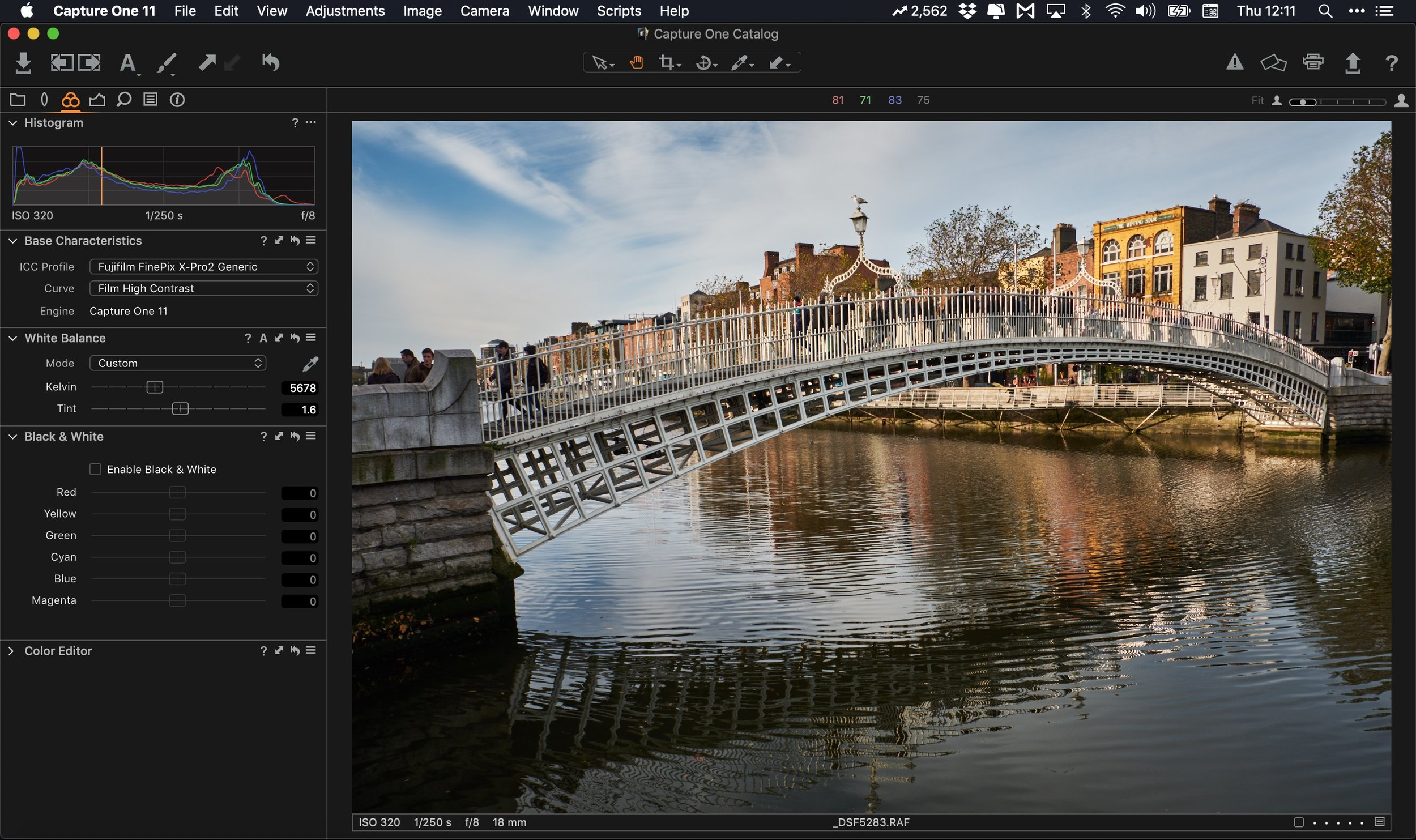 Capture One Express Fujifilm A Quick Overview Thomas Fitzgerald Photography