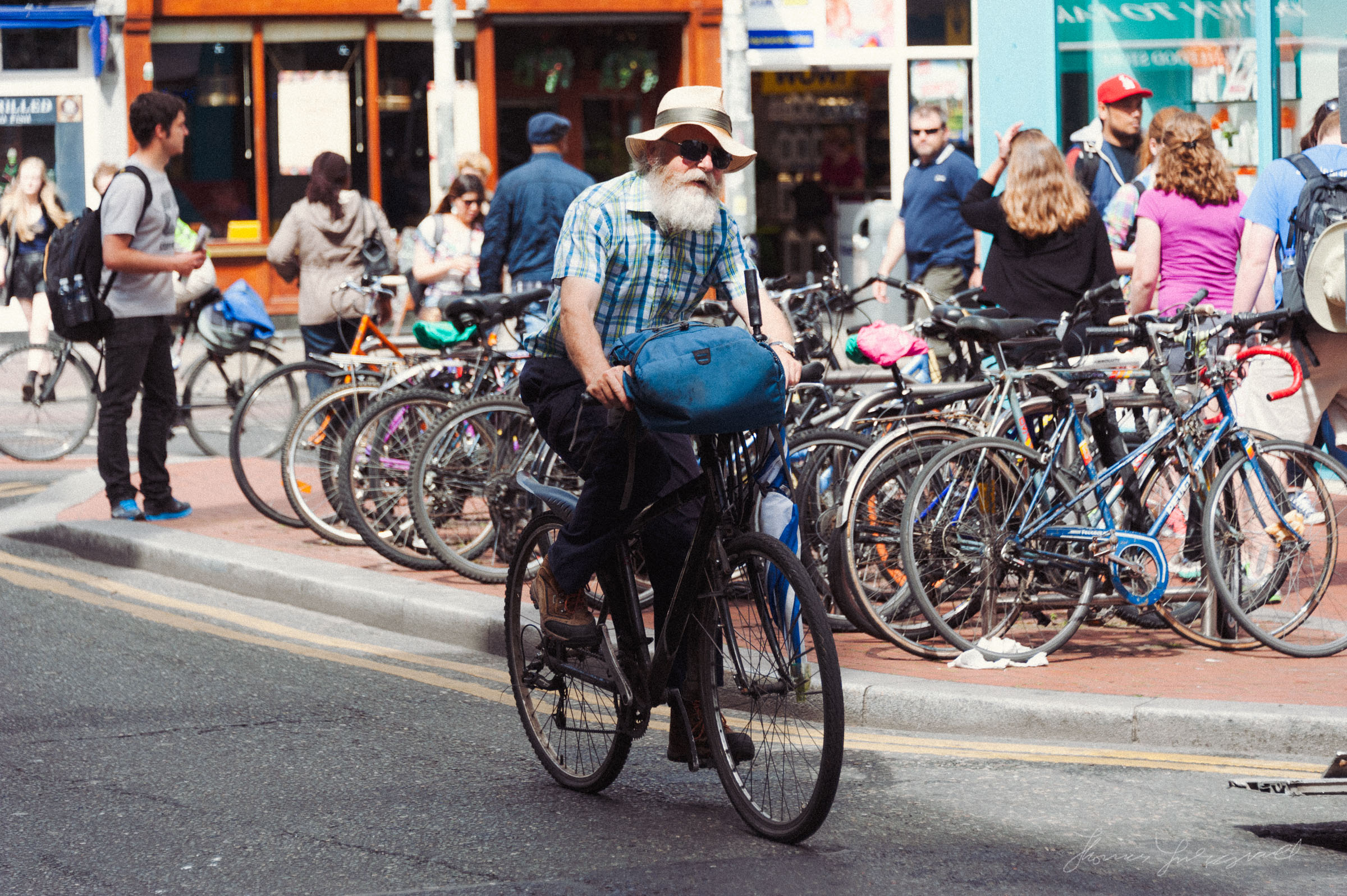 Bycycle Riding in Dublin