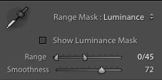 Luminance Mask in Lightroom