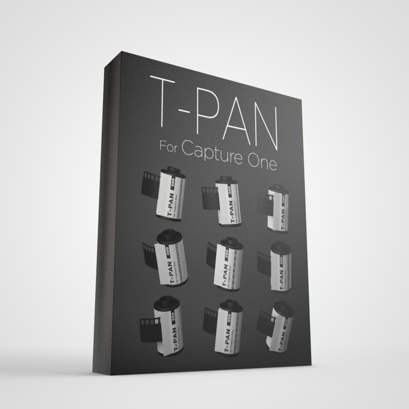 T-Pan for Capture One - Black and White Style Pack