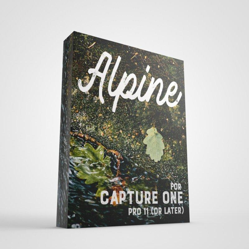 Alpine for Capture One