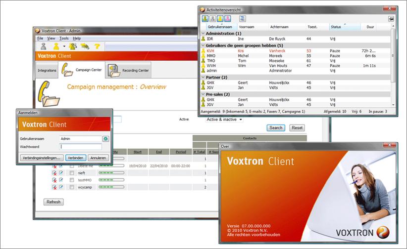 Voxtron Communication Center
