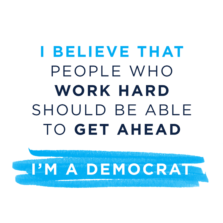 The Democratic Party prides itself on its many coalitions.This  identity-based graphic series  helped unify those coalitions based on shared values and became one of our most popular at the DNC.