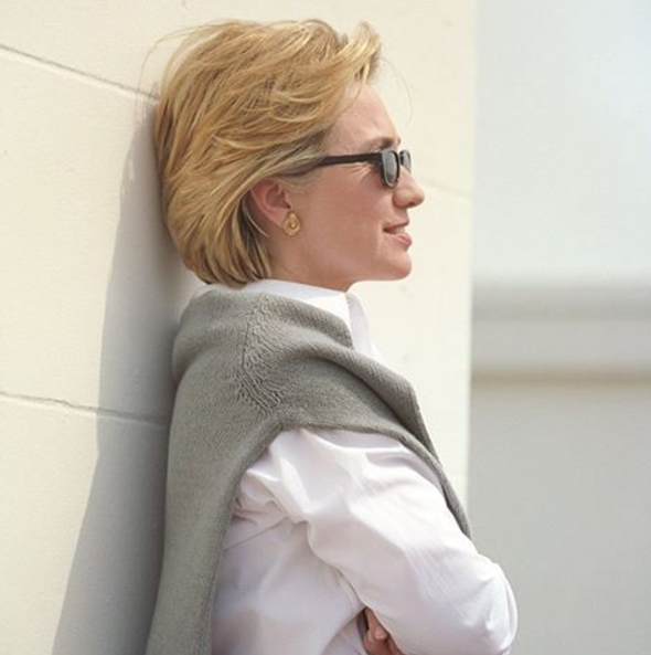 We used  historic photos  to introduce Secretary Clinton to younger audiences who were less familiar with her accomplishments and background and to connect with older Democrats who supported President Clinton's administration. This one was deployed before a debate to rally the base.