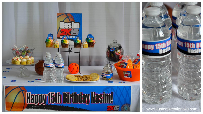 2k15 Birthday Party Supplies