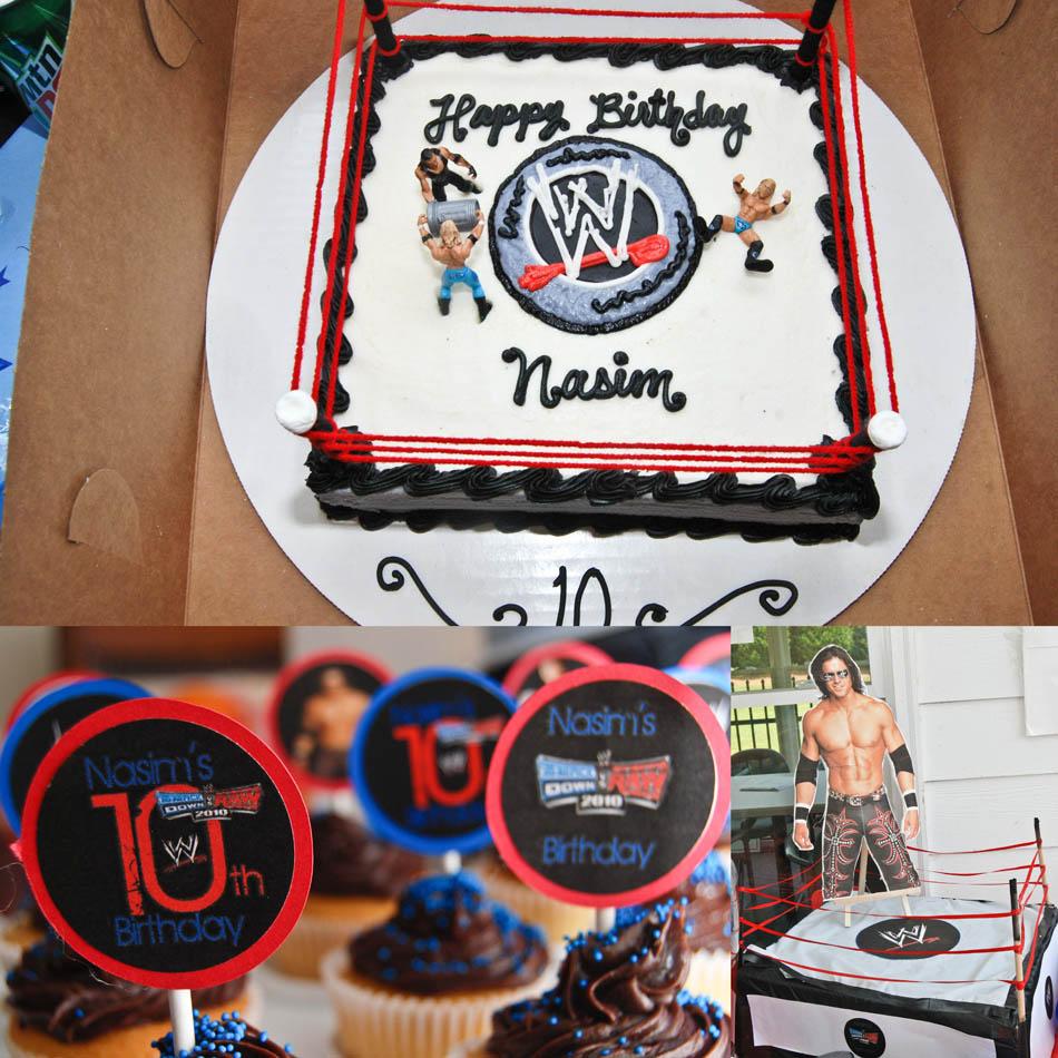 WWE cake Wwe John Cena
