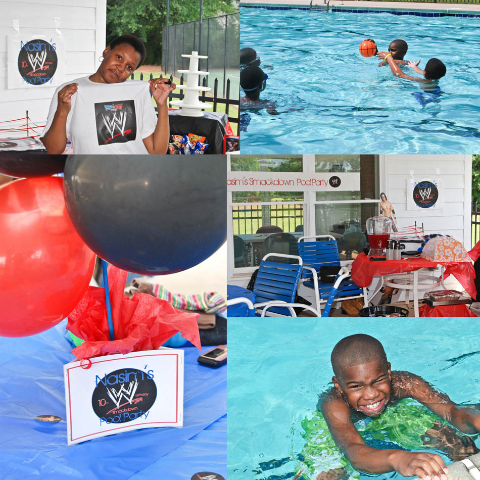 WWE Pool Party
