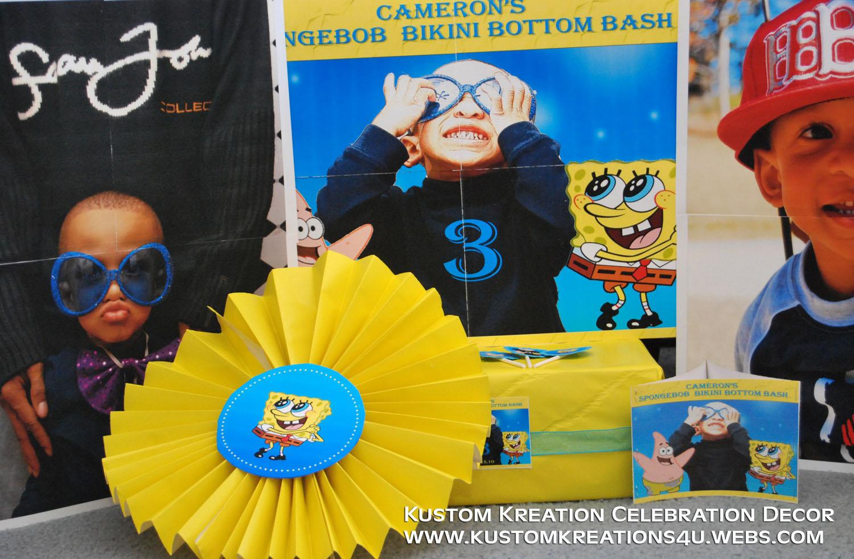 Sponge bob Party Supplies