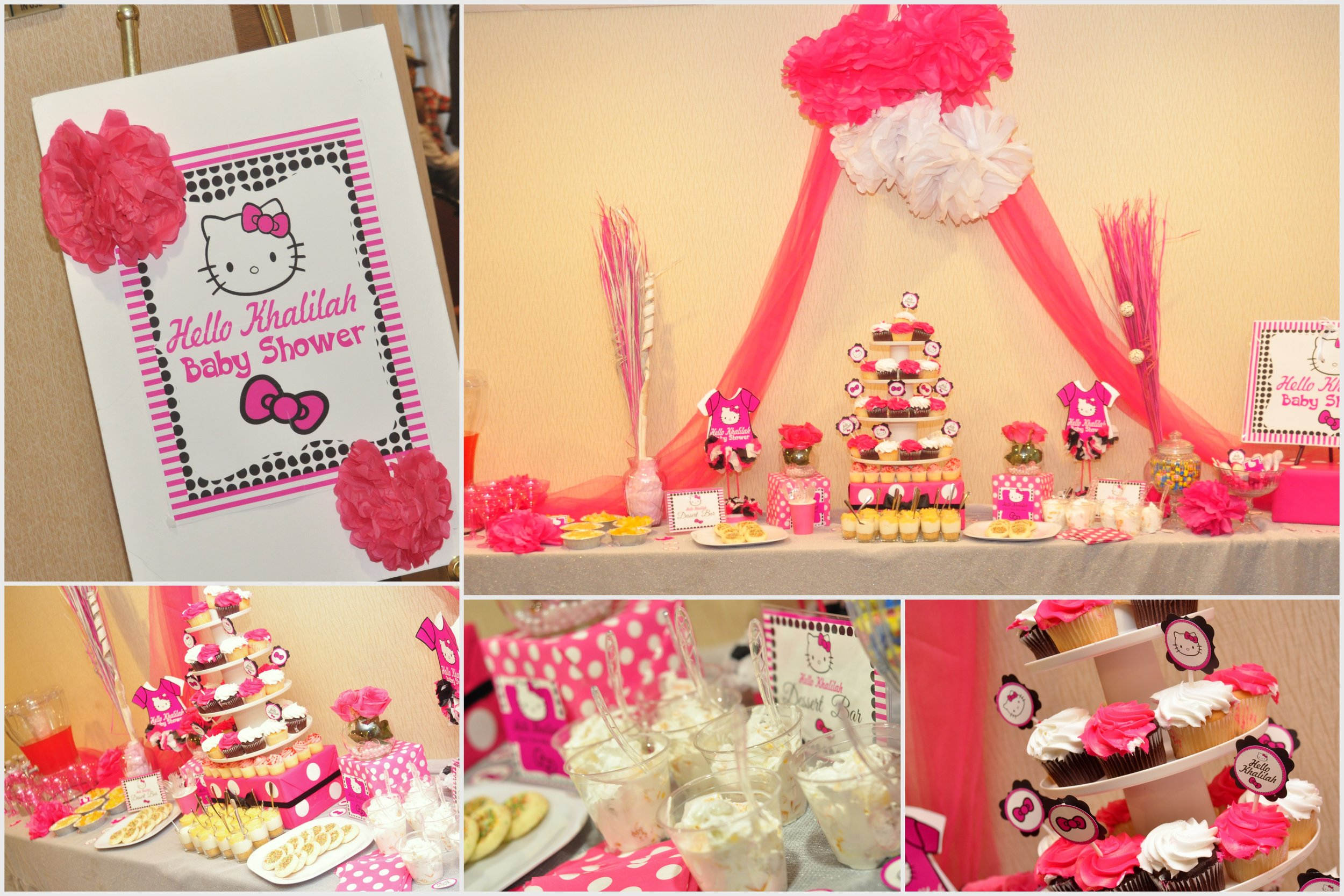 Hello Kitty Baby Shower Supplies