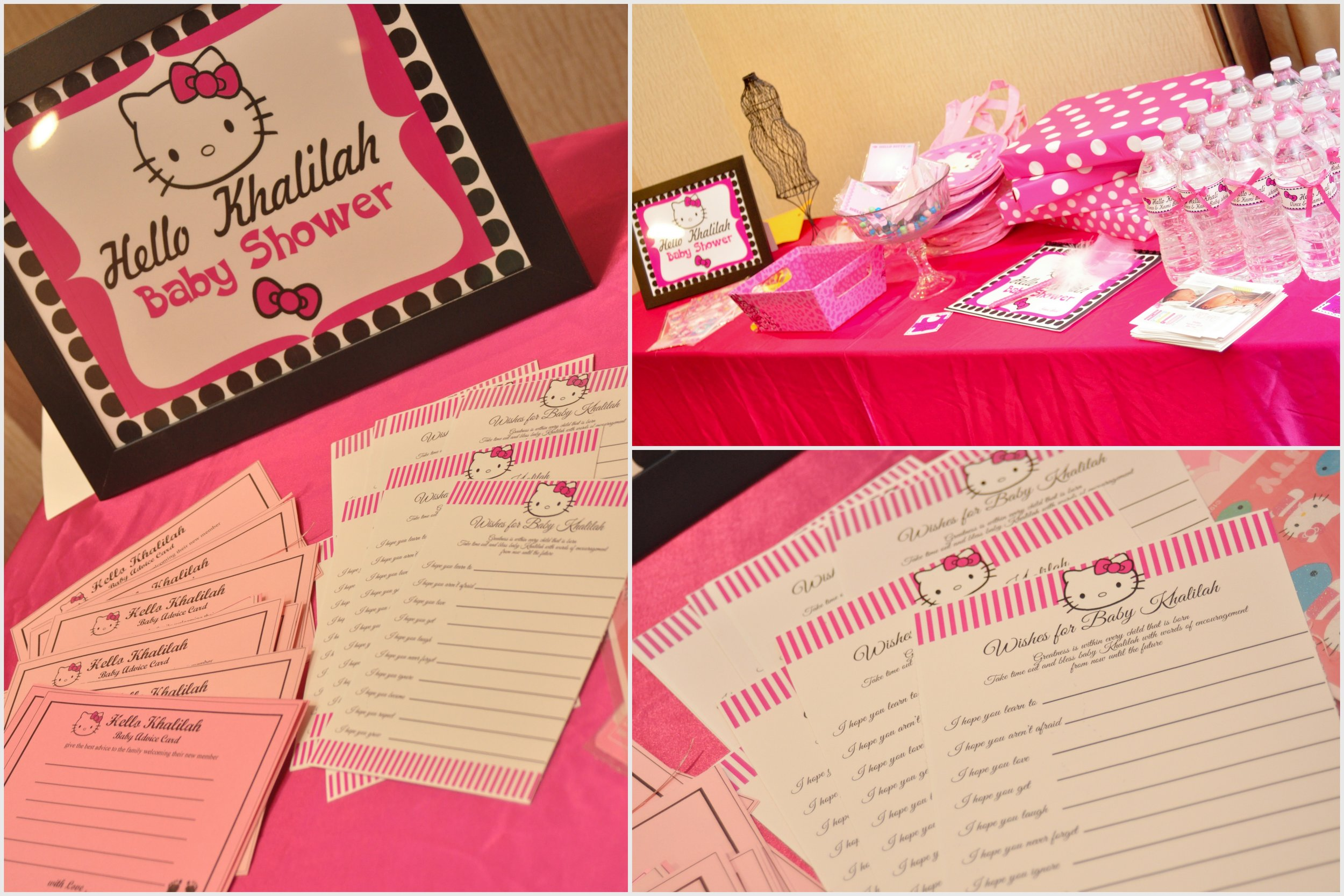 Hello Kitty Baby shower party collection