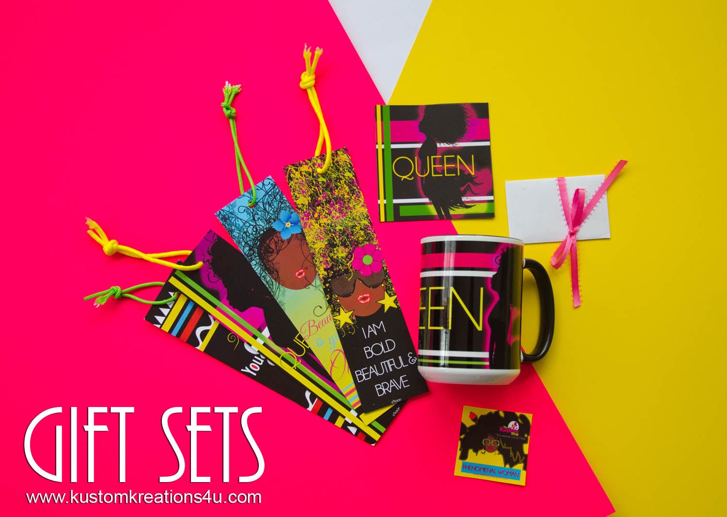 Gift Sets- Queen Black Art Gift Sets
