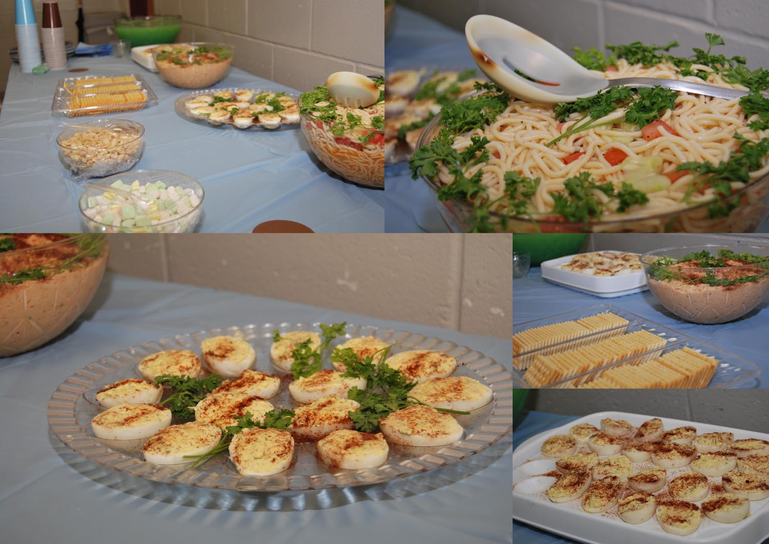 baby shower food Angela's catering