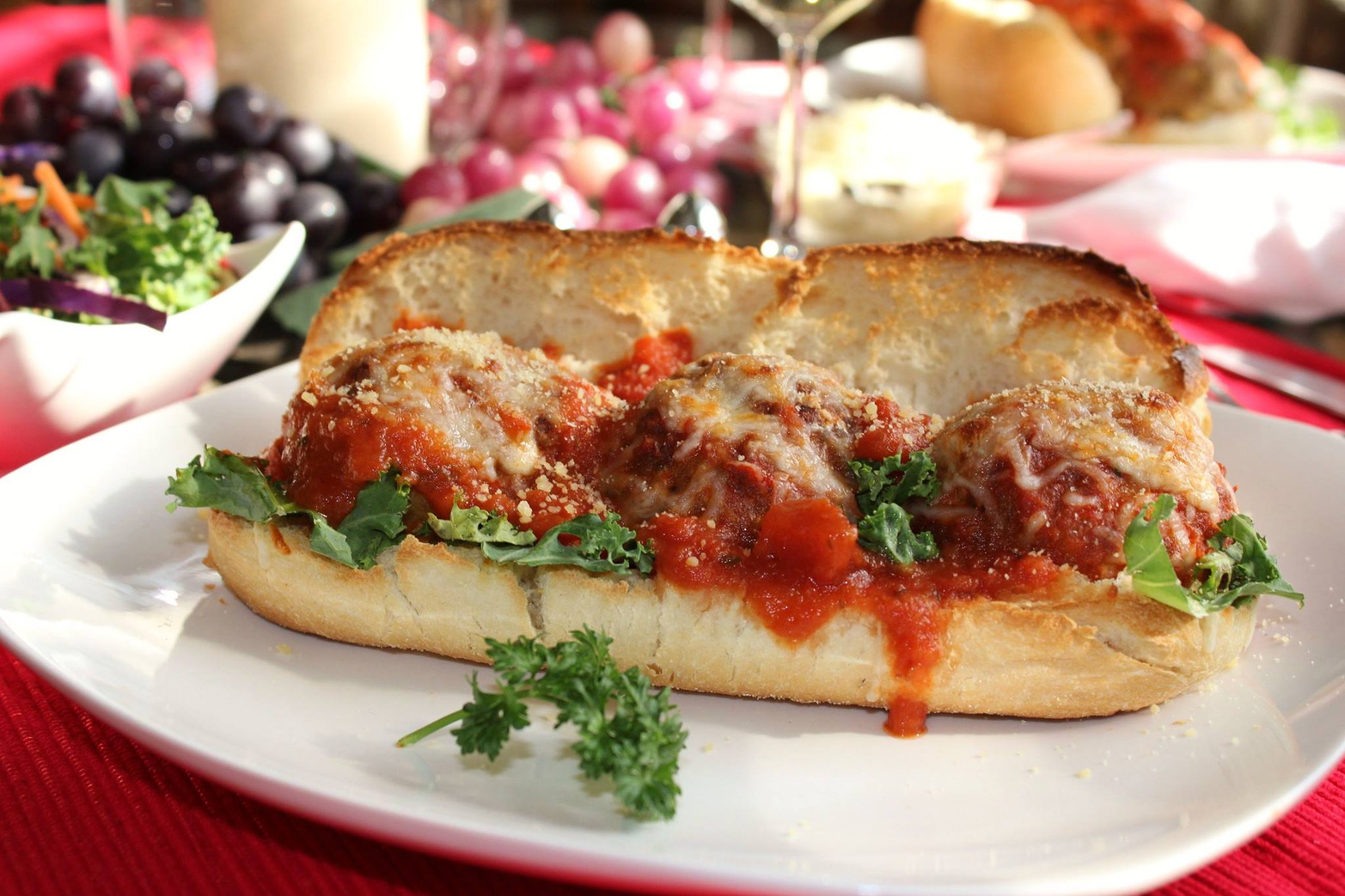 Turkey Meat ball Subs