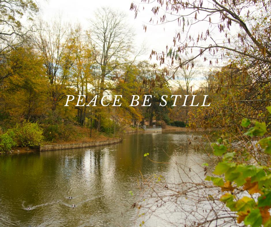 Peace Be Still - Motivation