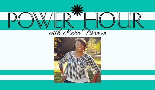 We are so excited to welcome an empowerment segment to our blog! Our bi weekly contributor Kara Norman is no stranger to the empowerment world and has been working with Women and Girls for a number of years. Her nonprofit organization Empower Her Inc , have led to many opportunities in the space of making social changes as it deals with women and their many roles in society. You can learn more about Kara Norman and Empower Her Inc. at http://www.empowerherinc.com/  Today's Empower Hour with Kara!