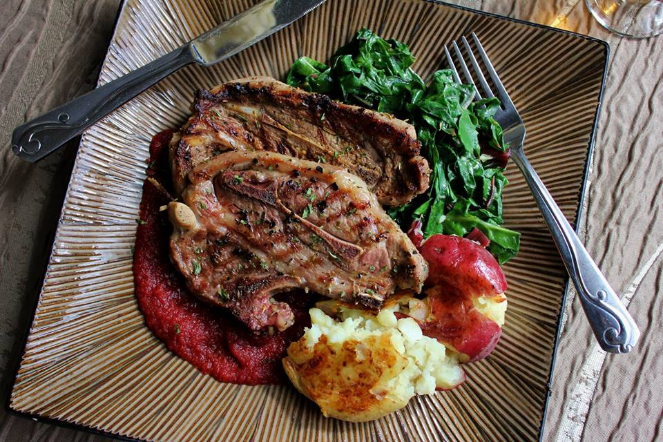 Lamb Chops with sauteed Swiss Chard & pureed beets (2).jpg
