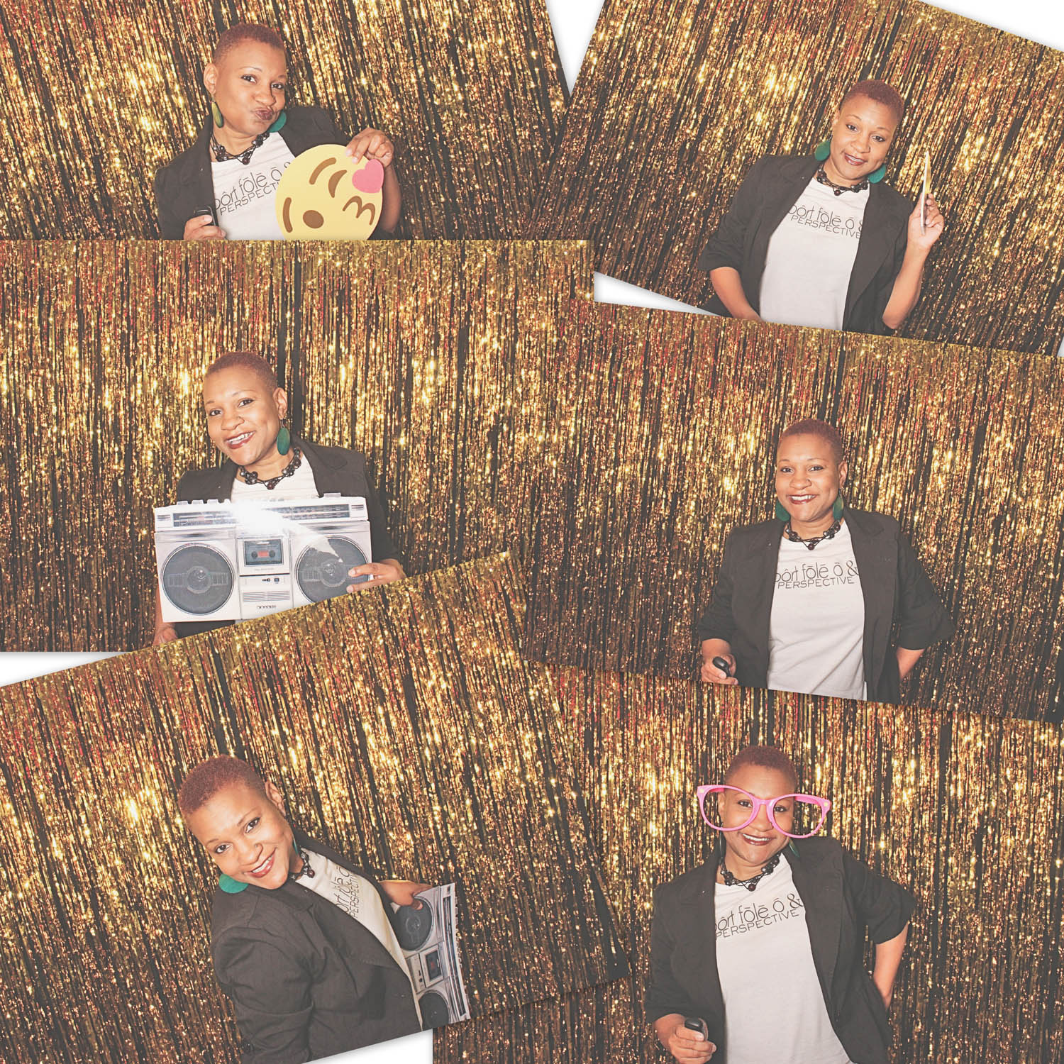 Having a few fun moments at the photo booth!!!