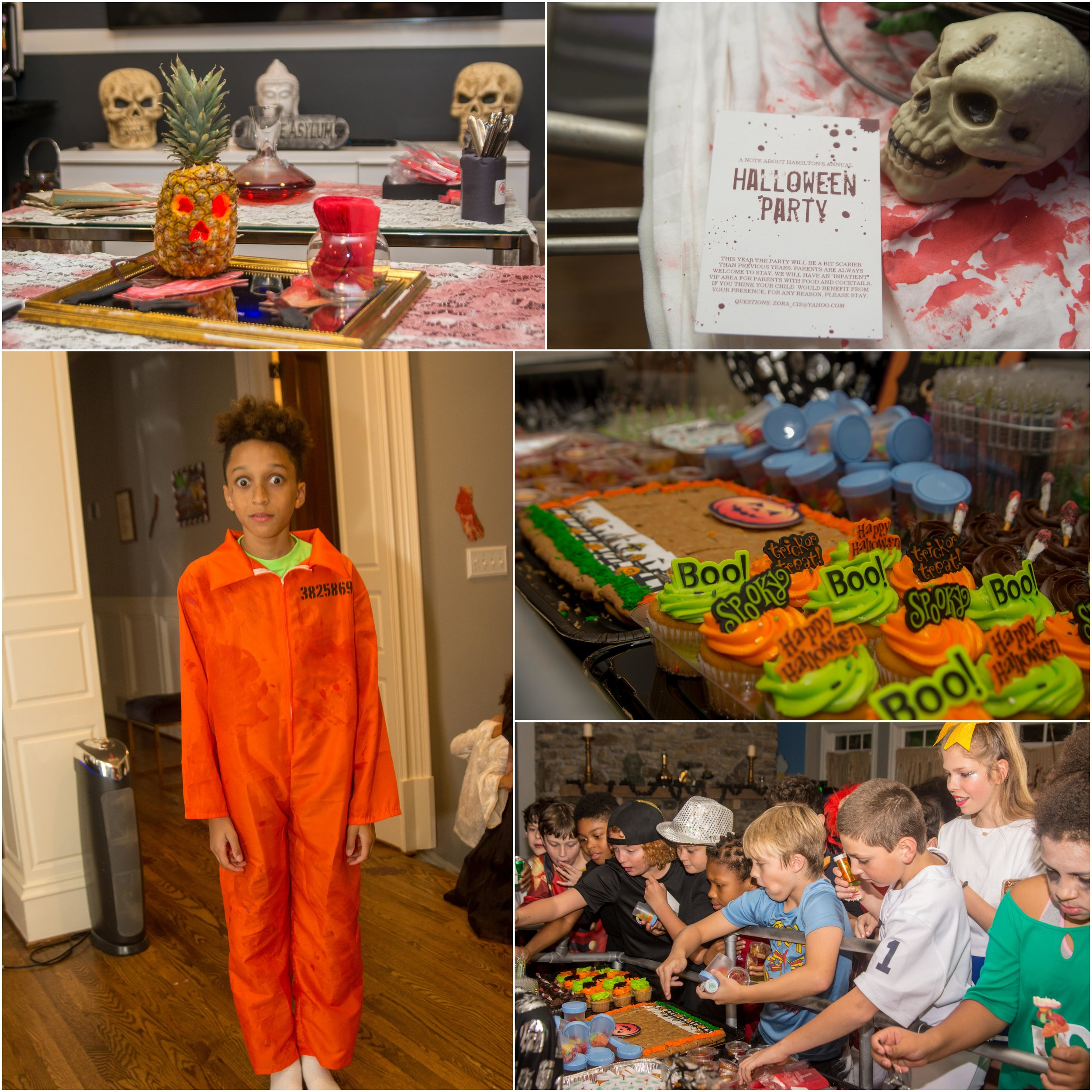 Hamilton's Halloween Party - October 2018