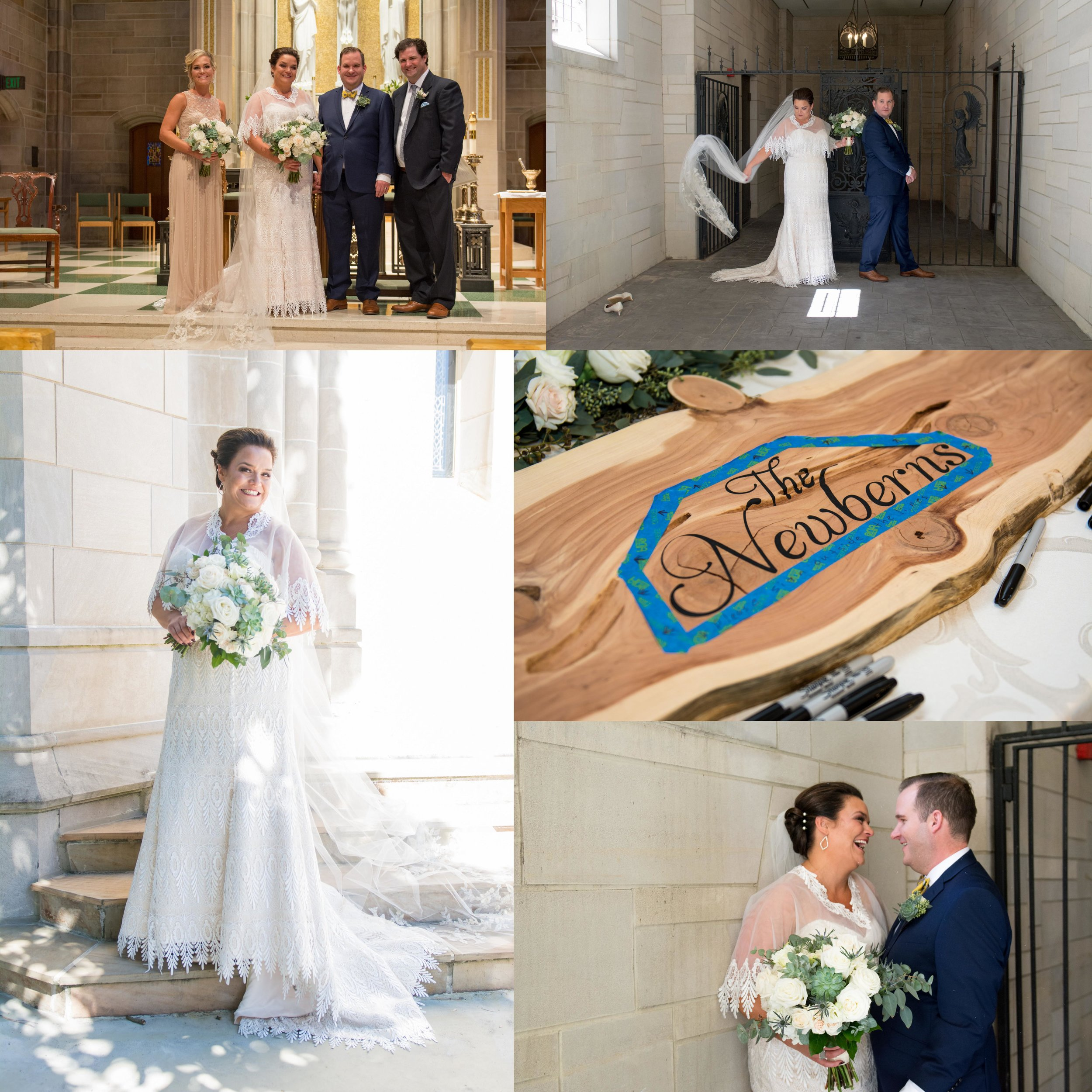 Megan and Mark Newbern Wedding Ceremony - October 2018