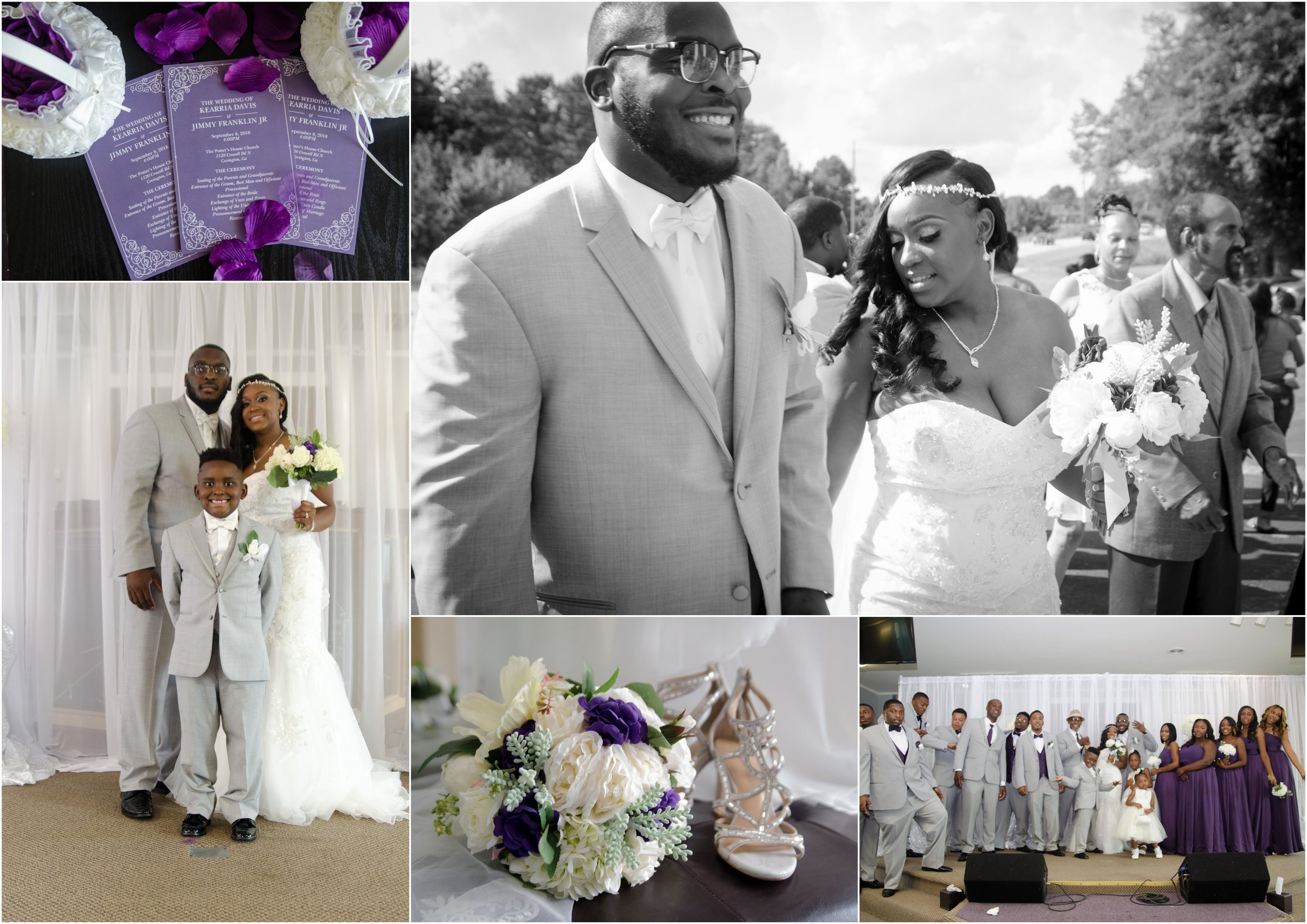 Kierra & Jimmy Franklin Wedding Ceremony - September 2018