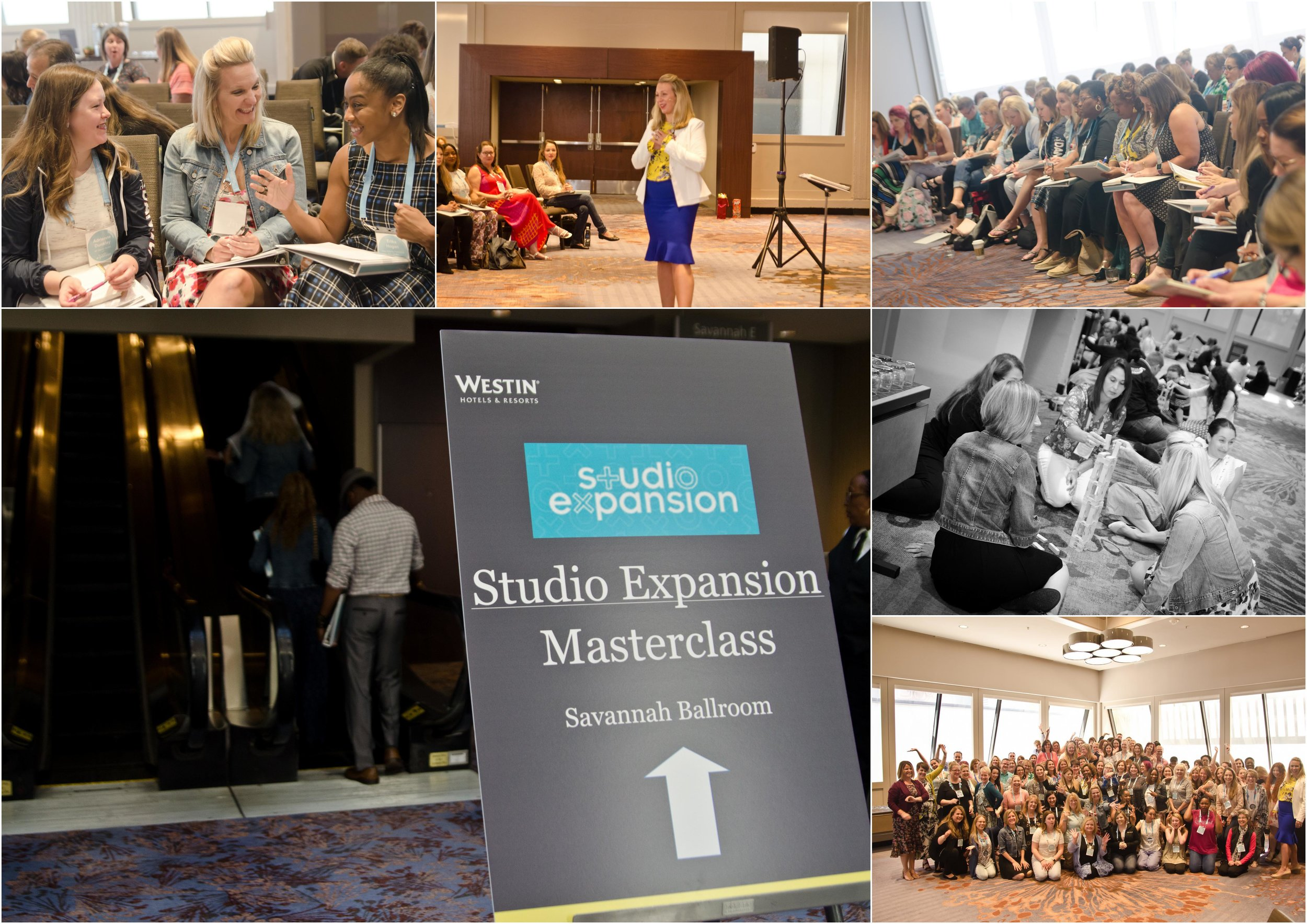 Studio Expansion Masterclass - Westin Hotel Atlanta- July 2018