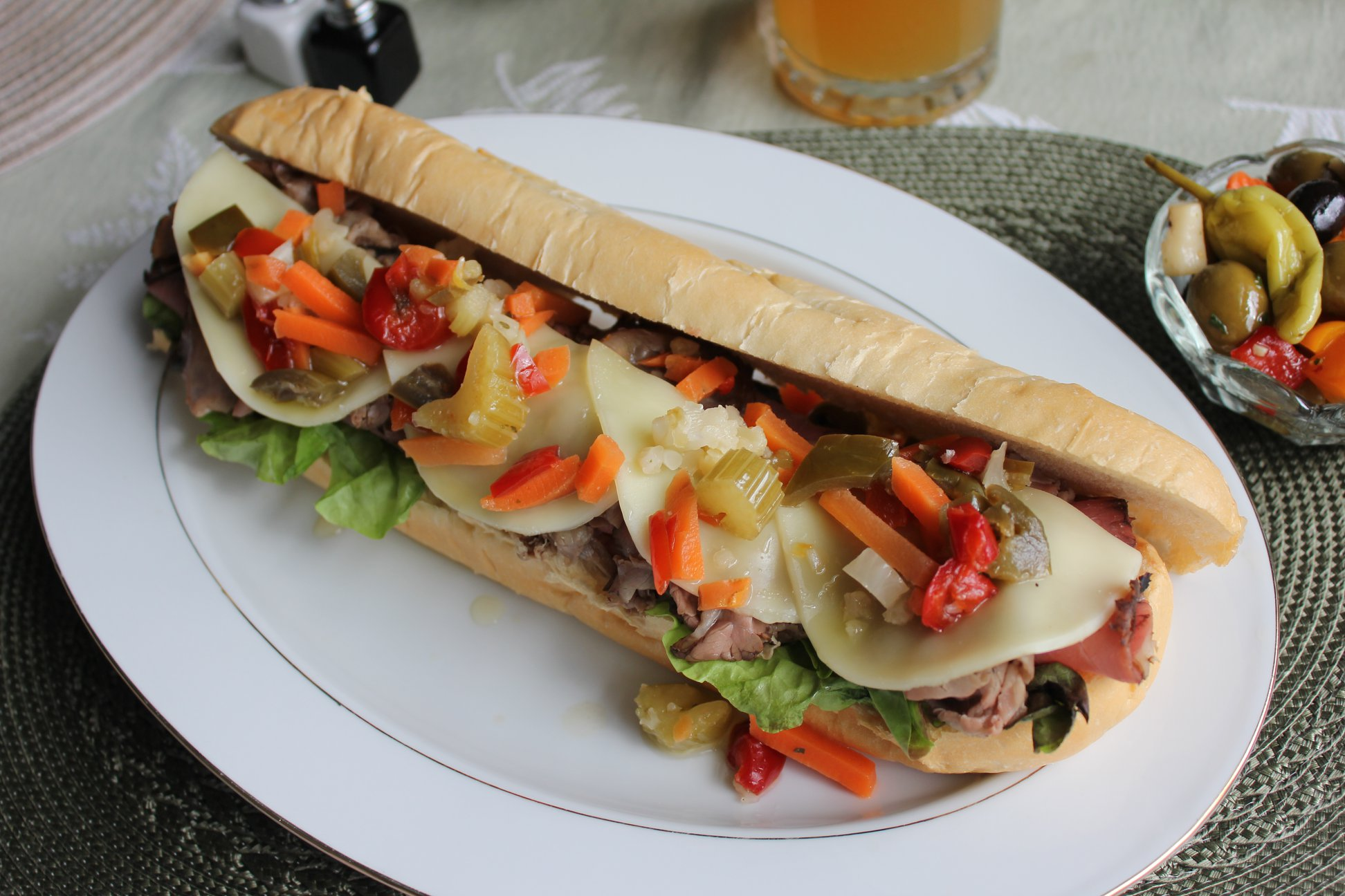 Foodie Tuesday with Smarty Marty  Chicago Styled Italian Beef Sandwich.jpg.jpg