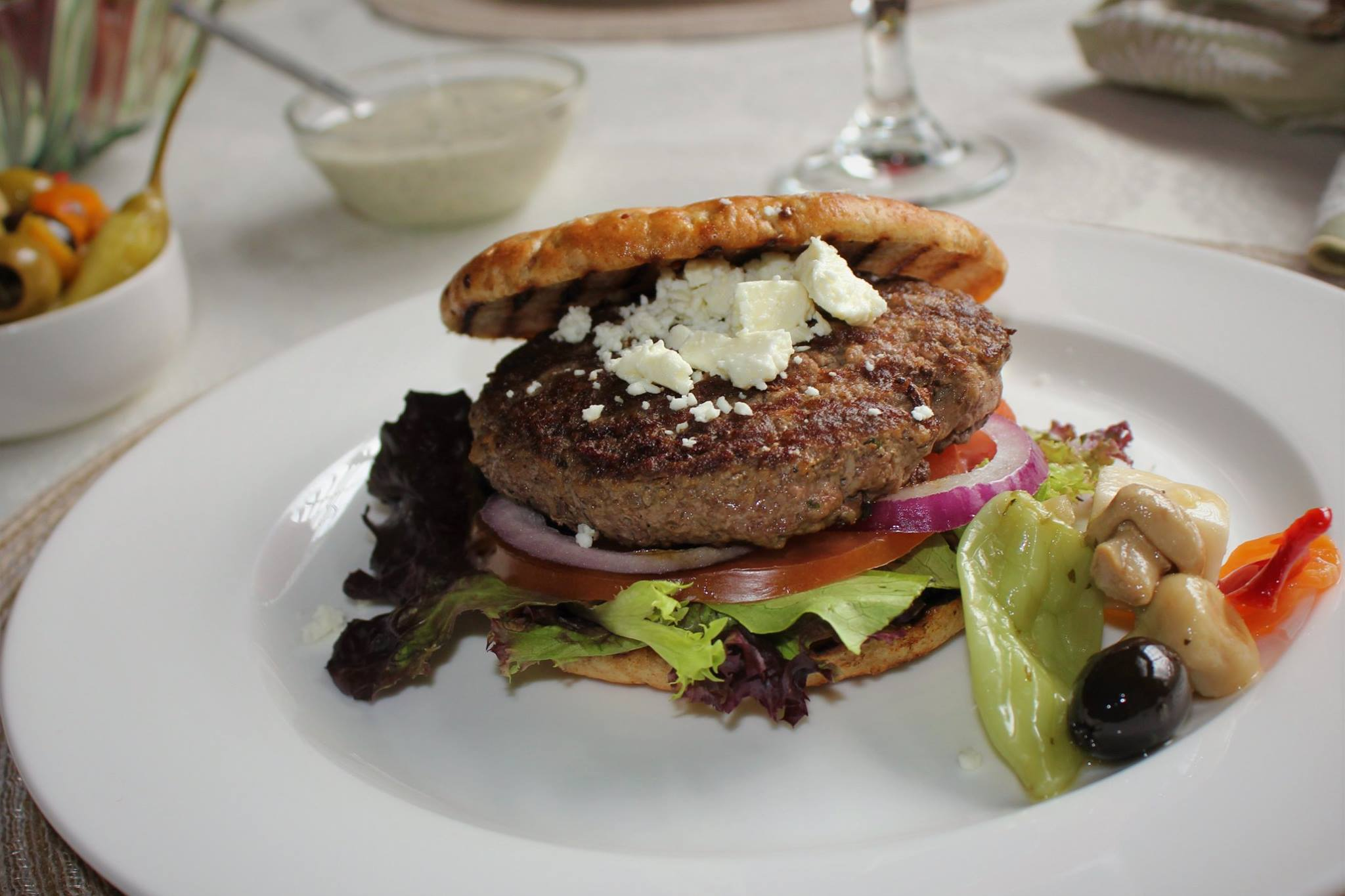 Foodie Tuesday with Smarty Marty- Lamb Burgers with Olive Salad.jpg