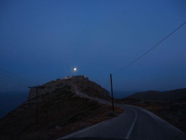 moon over monastery