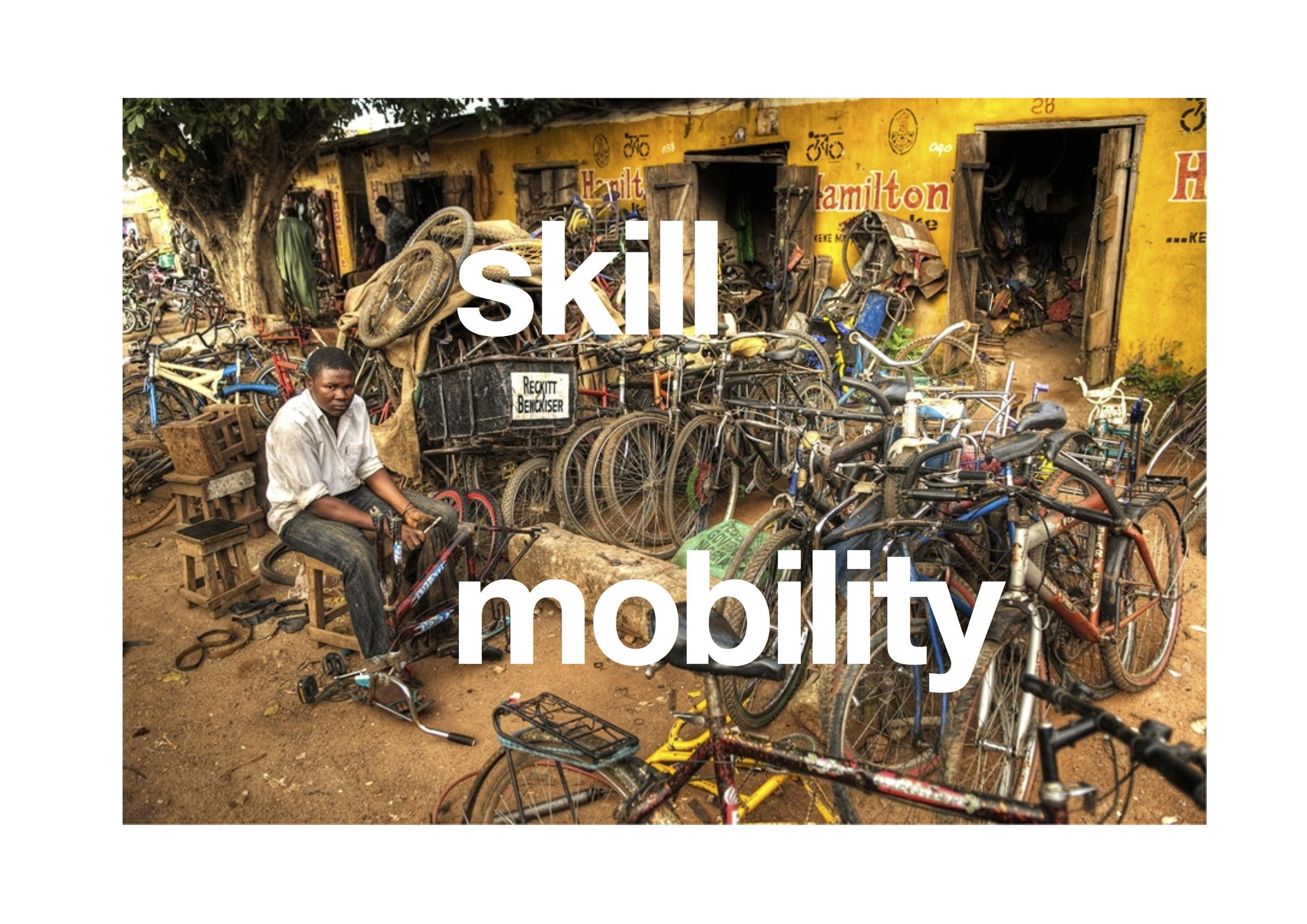 is this about bikes and money or about skills or mobility?