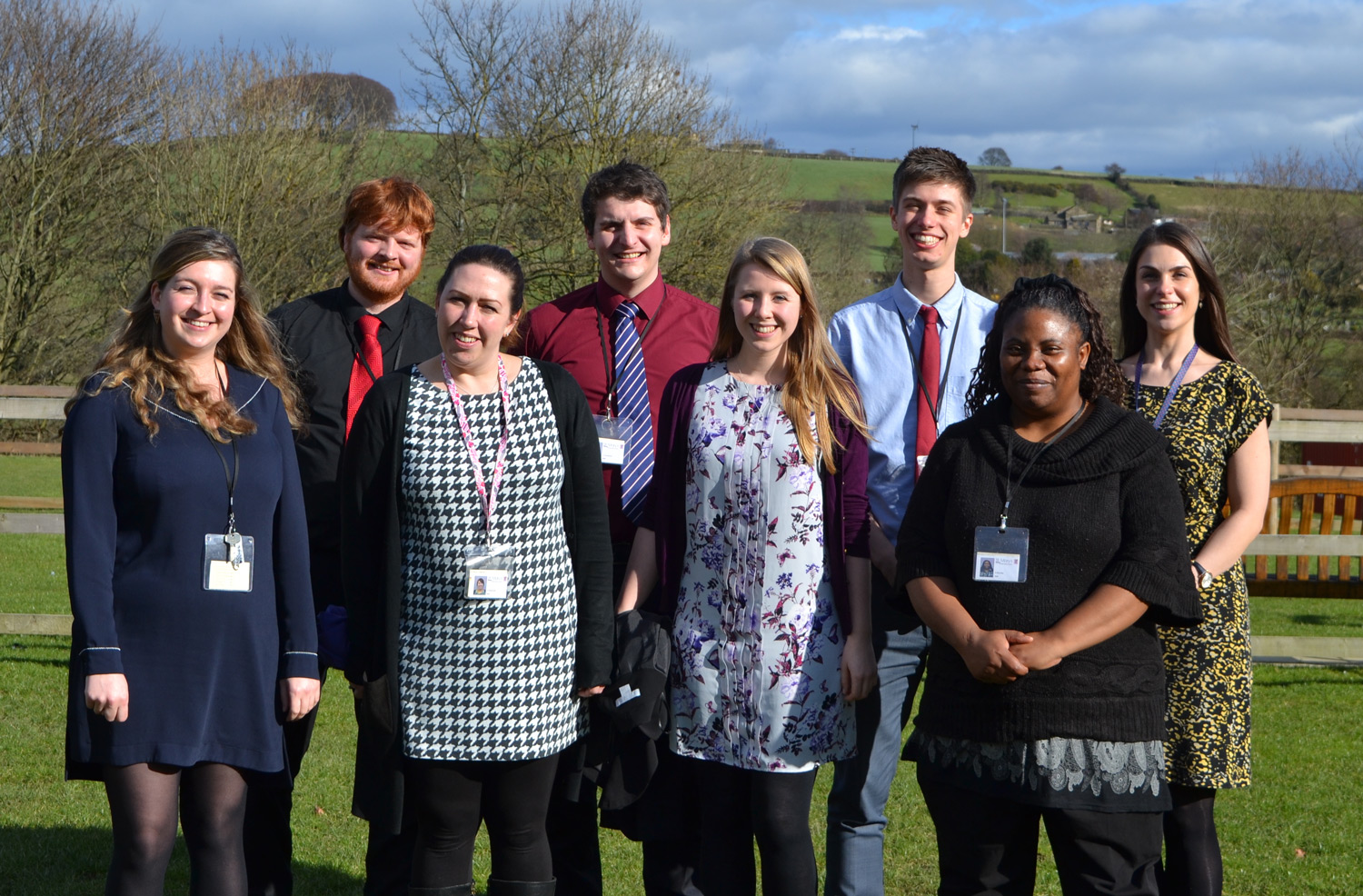 Photo: We are very proud of the teachers training at St. Mary's Teaching School. Commemorative photo taken near St. Mary's Menston Memorial Garden,25 February 2016