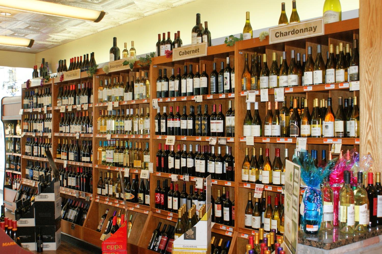 California Wine Selection