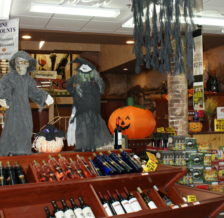 Halloween Wine Display.jpg